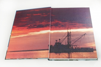 Self-Publishing | Printing and Binding Sample - Hardcover End Papers