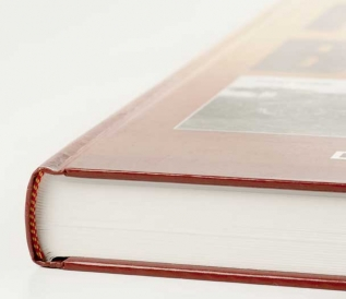 Self-Publishing | Printing and Binding Sample - Hardcover Hand and Tail Bands
