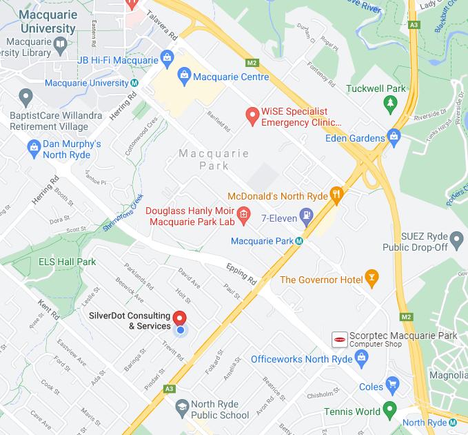 SilverDot Minipublishing Location